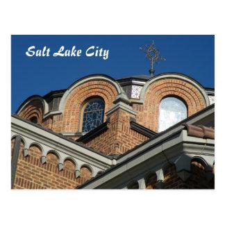 Iglesia ortodoxa de la trinidad santa postales