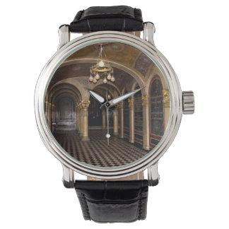 Iglesia ortodoxa griega de la trinidad santa reloj de mano
