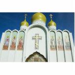 Iglesia ortodoxa rusa esculturas fotográficas