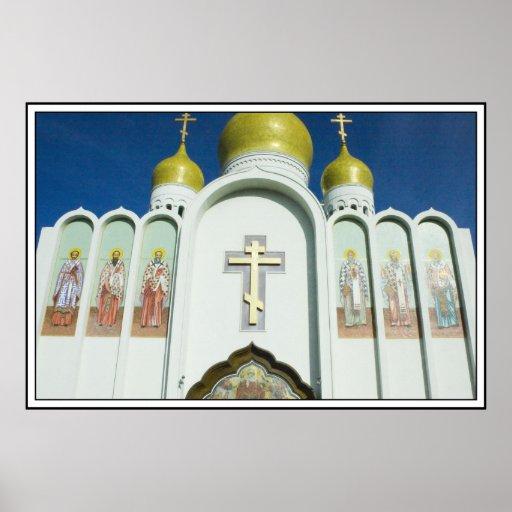 Iglesia ortodoxa rusa impresiones