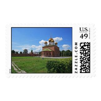 Iglesia ortodoxa rusa franqueo