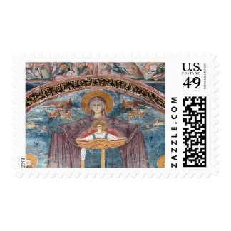 Iglesia ortodoxa servia, y un sitio de la UNESCO, Sello Postal