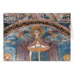 Iglesia ortodoxa servia, y un sitio de la UNESCO,  Tarjeta De Felicitación