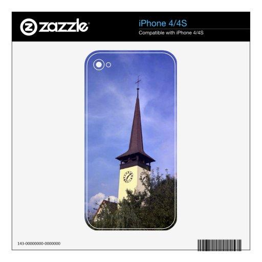 Iglesia parroquial de Bonigen, Interlaken iPhone 4S Calcomanía