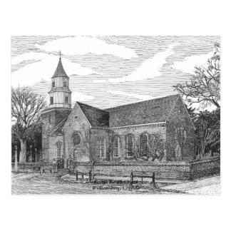 Iglesia parroquial de Bruton, Williamsburg Postal