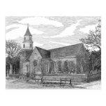 Iglesia parroquial de Bruton, Williamsburg Tarjeta Postal