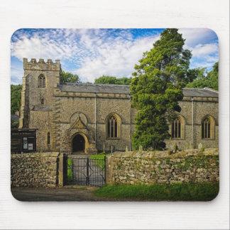 Iglesia parroquial de Clapham, N. Yorks Mouse Pads