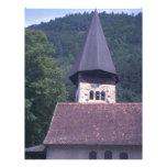 Iglesia parroquial de Unterseen, Interlaken Plantilla De Membrete