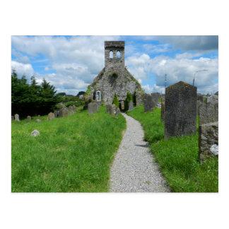 Iglesia parroquial vieja en Cahir - Irlanda Postal