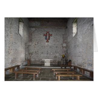 Iglesia por todas las estaciones tarjeta de felicitación