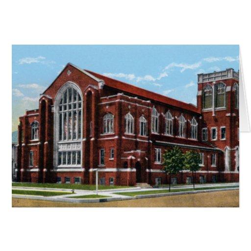 Iglesia presbiteriana de Kansas de la salina prime Tarjeta