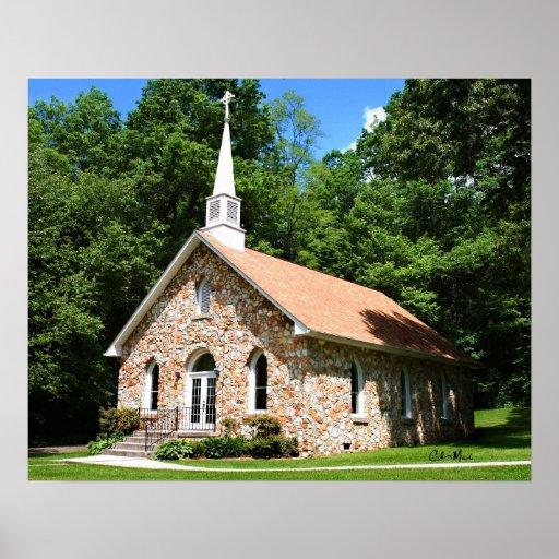 Iglesia presbiteriana de Mayberry Póster
