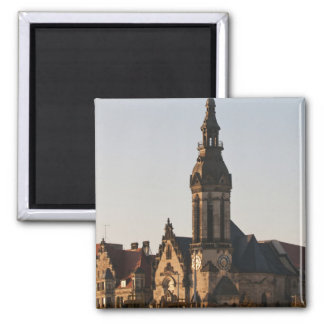 Iglesia reformada Leipzig, Alemania Imán Cuadrado