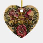Iglesia rusa adorno de navidad