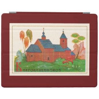 Iglesia rusa de madera de Blagoveshchenskoye Cubierta De iPad