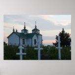 Iglesia rusa poster