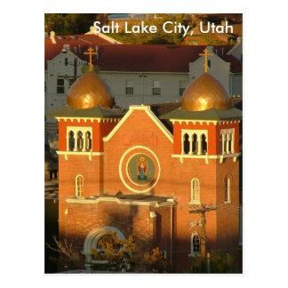 Iglesia, Salt Lake City, UT Tarjetas Postales