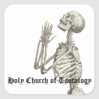 Iglesia santa del pegatina del funcionario de la