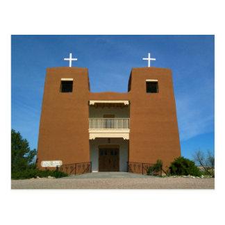 Iglesia Santa Fe, New México Tarjetas Postales
