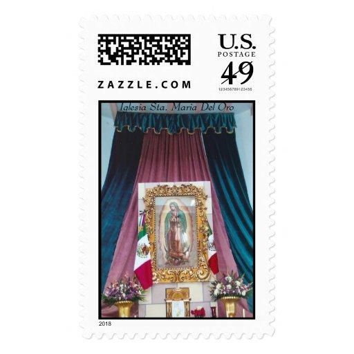 Iglesia Sta. Maria Del Oro Timbres Postales