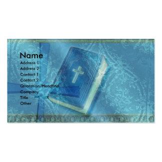 iglesia tarjetas de visita