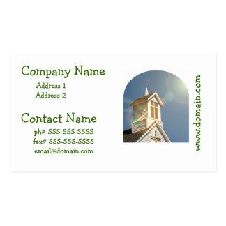 Iglesia Tarjeta Personal