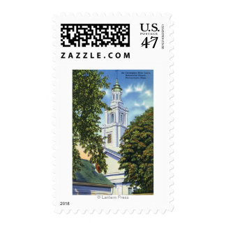 Iglesia universalista timbres postales