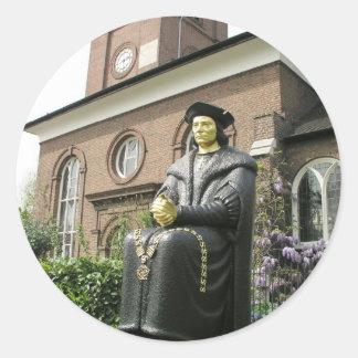 Iglesia vieja de Chelsea, Londres SW3 Pegatinas Redondas