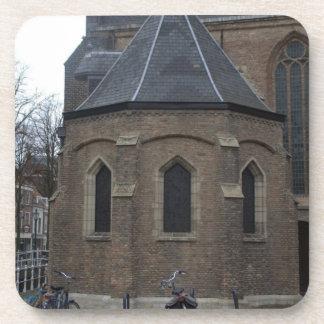 Iglesia vieja, Delft Posavasos De Bebida
