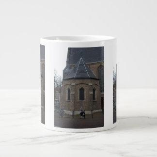 Iglesia vieja, Delft Taza De Café Grande