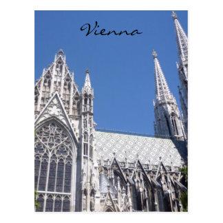 iglesia Viena del votiv Postales