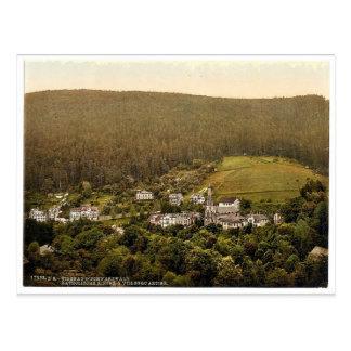 Iglesia Wildbad bosque negro Baden clas de Ale Tarjetas Postales