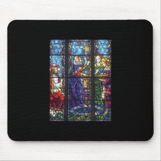 Iglesia Windows 01 Alfombrillas De Raton