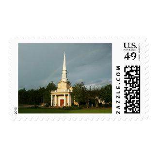 Iglesia y arco iris de preguerra de Mississippi Sellos