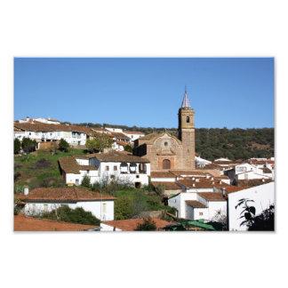 Iglesia y casco histórico de Valdelarco, Huelva Fotografias