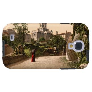 Iglesia y ciudad vieja, Royat, Auvergne, Francia Funda Para Galaxy S4