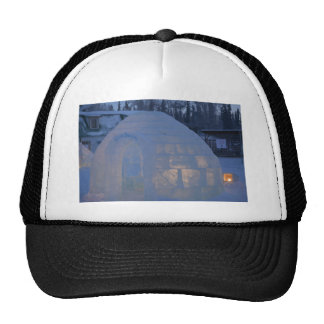 Igloo  building water crystals  compression hats