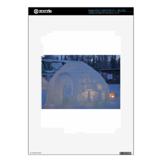 Igloo  building water crystals  compression skins for iPad 3