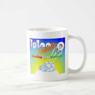 Igloo Saved Flaming Igloo Game Coffee Mug