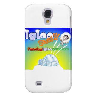 Igloo Saved Flaming Igloo Game Galaxy S4 Case