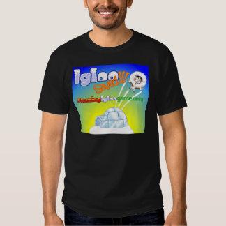 Igloo Saved Flaming Igloo Game T-Shirt