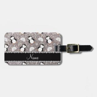Iglúes de plata conocidos personalizados de los etiquetas para maletas