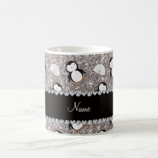Iglúes de plata conocidos personalizados de los taza clásica