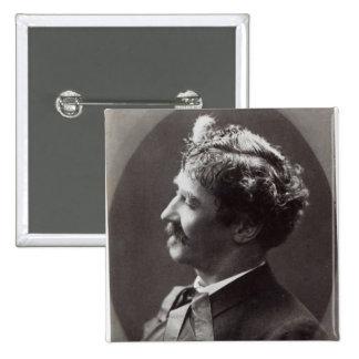Ignacy Jan Paderewski, c.1919 2 Inch Square Button
