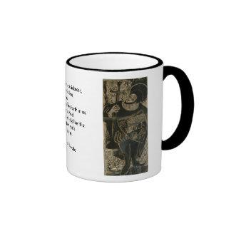 Ignatius of Loyola Ringer Coffee Mug