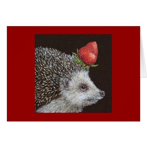 Ignatz the hedgehog card
