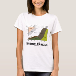 Igneous Is Bliss (Geology Ignorance Is Bliss) T-Shirt