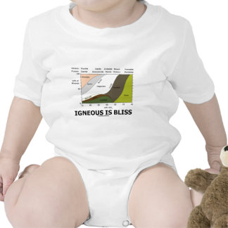 Igneous Is Bliss Geology Ignorance Is Bliss Bodysuit