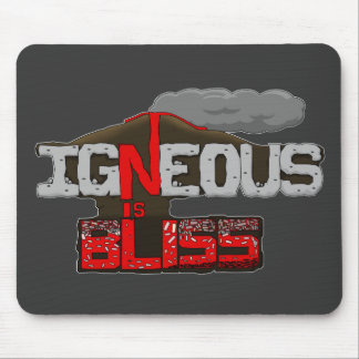 Igneous is Bliss Volcano Mouse Pad