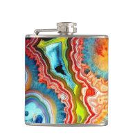 Igneous Rainbow Rock Flask
